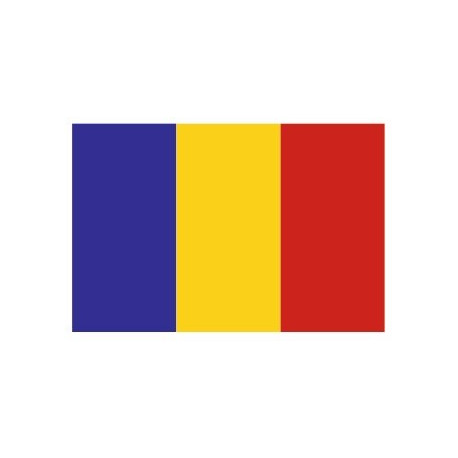 Sticker - Drapeau Roumanie REFG915