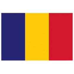 Sticker - Drapeau Tchad REFG931