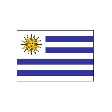 Sticker - Drapeau Uruguay REFG964