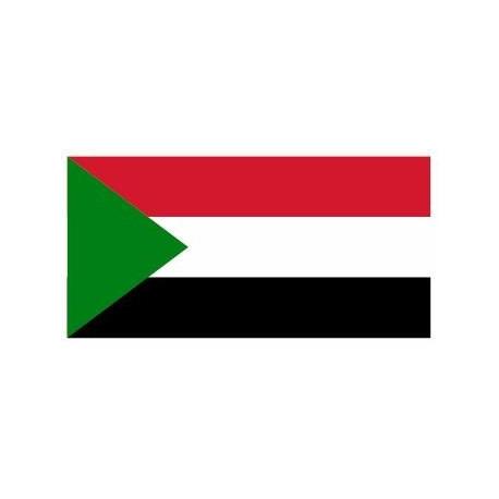 Sticker - Drapeau Soudan REFG847