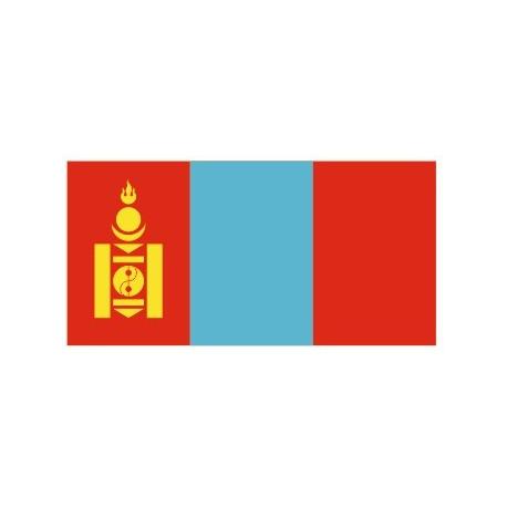 Sticker - Drapeau Mongolie REFG946