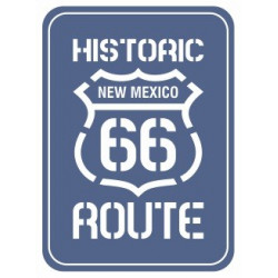Sticker - Historic route 66 REFG990