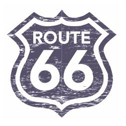 Sticker - Route 66 REFG986