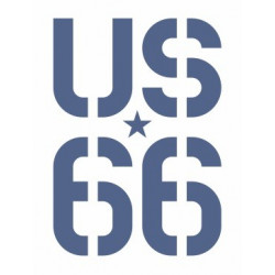 Sticker US 66