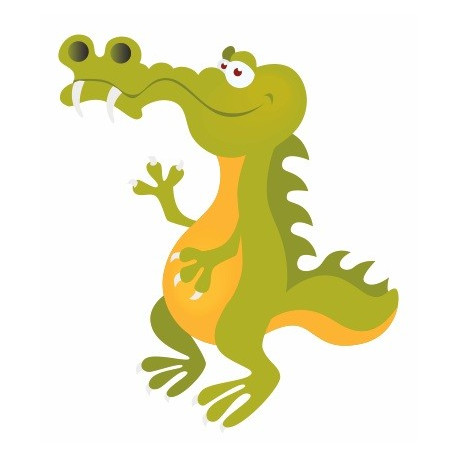 Sticker - Crocodile REFG061
