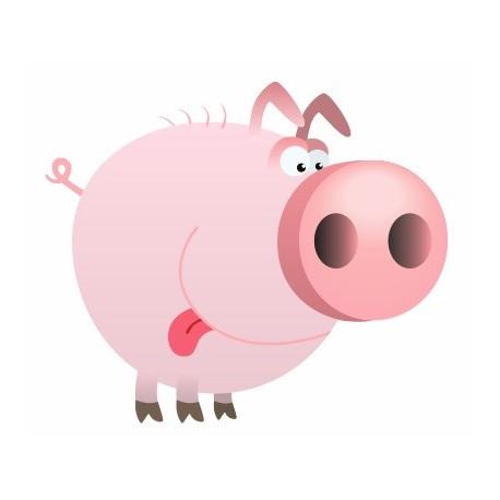Sticker - Cochon REFG070
