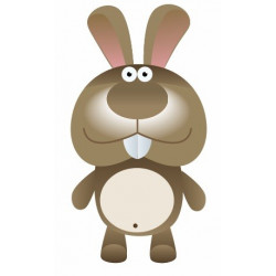 Sticker - Lapin REFG085