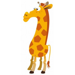 Sticker - Girafe REFG095