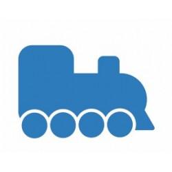 Autocollant Train