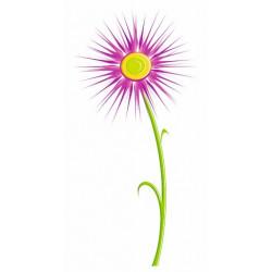 Sticker - Fleur rose REFH239