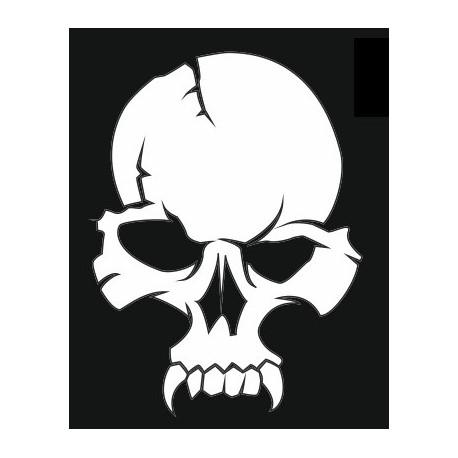 Sticker - Tête de mort REFH252