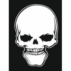 Sticker - Tête de mort REFH268