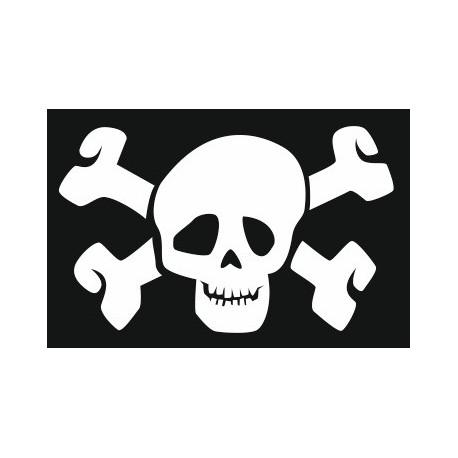 Sticker - Tête de mort REFH269