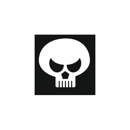 Sticker - Tête de mort REFH272
