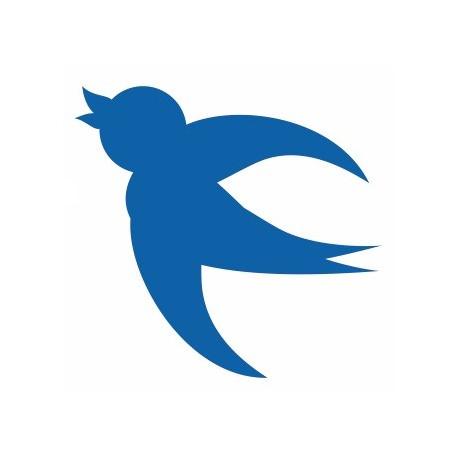 Sticker - Oiseau Mésange REFH146