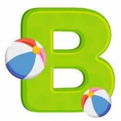 Sticker - Lettre B REFH203