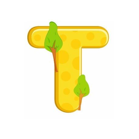 Sticker - Lettre T REFH221