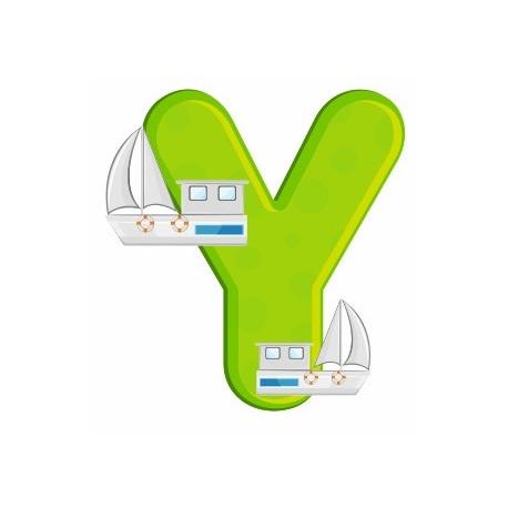 Sticker - Lettre Y REFH226