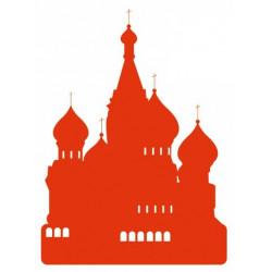 Sticker - Cathédrale Saint Basile - Moscou - Russie REFH191