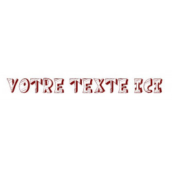 Sticker - Texte Cartoon REFG660
