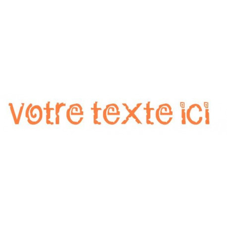 Sticker - Texte Mexique REFG662