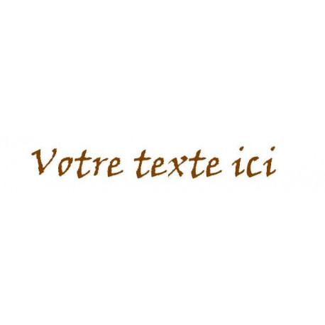Sticker - Texte Parchemin REFG681