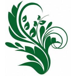 Sticker Fleur Arabesque