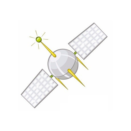 Sticker - Satellite spatial (REFH673
