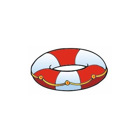 Sticker - Pirate bouée de sauvetage (REFH689