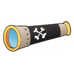 Sticker - Pirate Lunette (REFH690