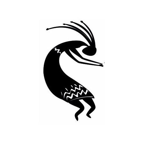 Sticker - Afrique danseur (REFH700