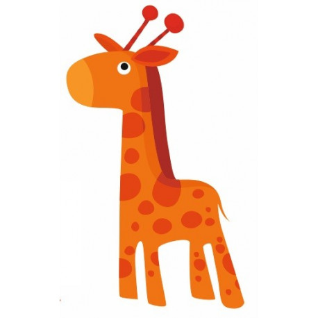 Sticker - Animaux Girafe (REFH734