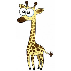 Sticker - Girafe (REFH753