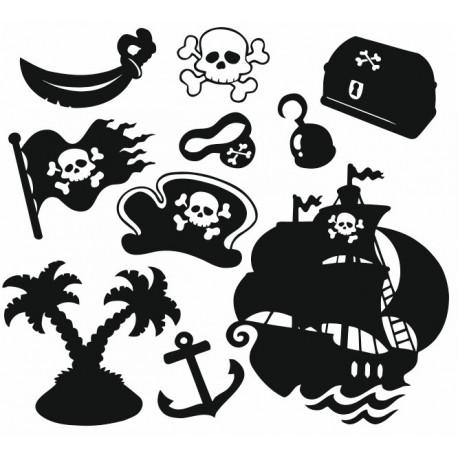 Sticker - Planche Pirate (REFH756