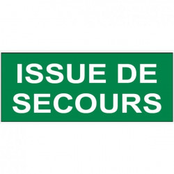 Sticker - Issue de secours (REFI054)