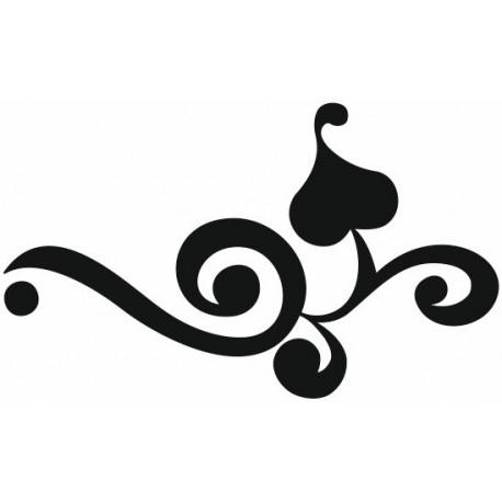 Sticker - Ornement baroque (R3014-14)