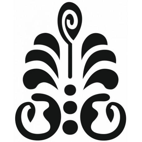 Sticker - Ornement fleur (R3017-26)
