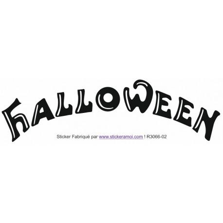Sticker - Halloween (R3066-02)
