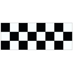 Sticker - frise Damier RACER (REFG755)