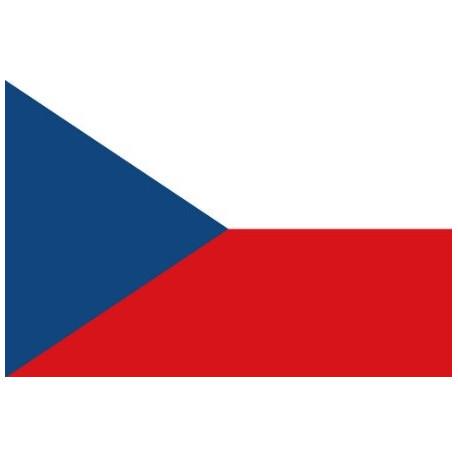 Sticker - Drapeau République Tchèque (REFG882)