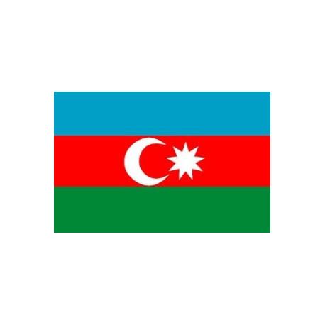 Sticker - Drapeau Azerbaijan (REFG830)