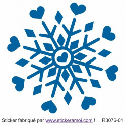 Sticker - Flocon de Noël (R3076-01)