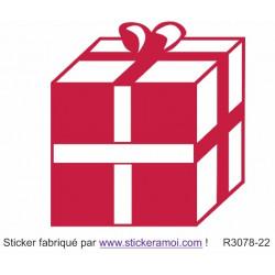 Sticker - Cadeau de Noël (R3078-22)
