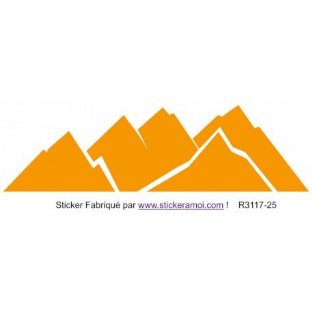 Sticker - Montagne décoration (R3117-25)