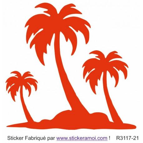 Sticker - Palmier déco (R3117-21)