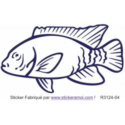 Sticker - Poisson (R3124-04)