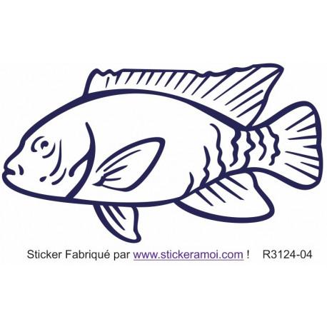 Sticker - Poisson (R3124-04)