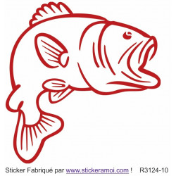 Sticker - Poisson (R3124-10)