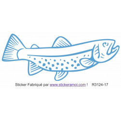 Sticker - Poisson (R3124-17)