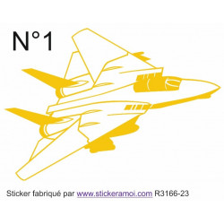 Sticker - avion (R3166-23)